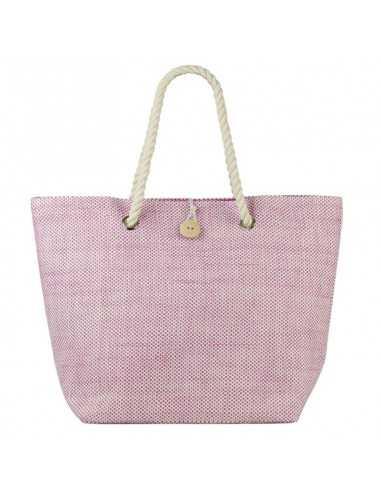BECO  - Strandtaske i sarte farver