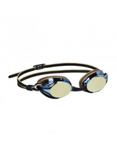 BECO - Boston Mirror Svømmebriller med Spejlglas til Voksne